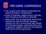 pre game conference37