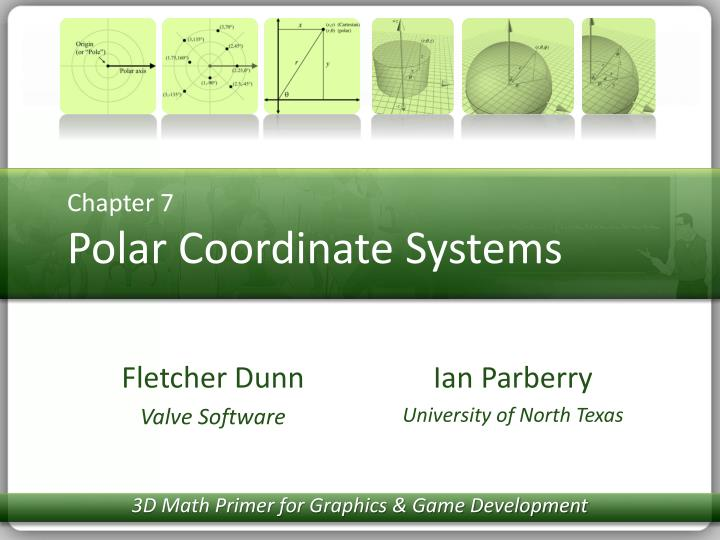 chapter 7 polar coordinate systems n.