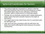 spherical coordinates for gamers1