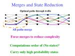 merges and state reduction