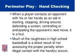 perimeter play hand checking39