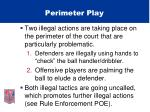 perimeter play