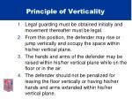 principle of verticality44