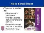 rules enforcement32