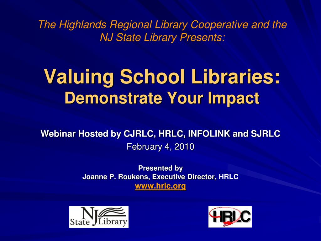 valuing school libraries demonstrate your impact l.