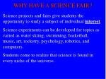 why have a science fair5