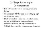 2 nd step factoring in consequences