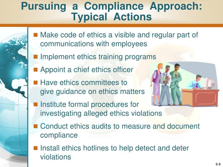 Ppt chapter 9 ethical business strategies social responsibility and environmental - Ethics compliance officer ...