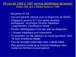 28 cas de 1982 1997 service obst trique de boston castro ma am j obstet gynecol 1999