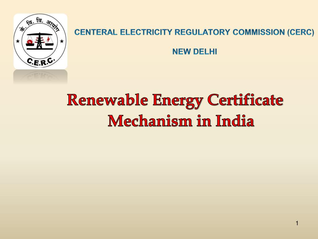 centeral electricity regulatory commission cerc new delhi l.