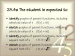 2a 4a the student is expected to75