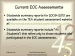 current eoc assessments33