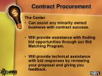 contract procurement