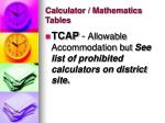 calculator mathematics tables37