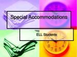 special accommodations42
