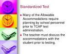 standardized test7