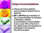 unique accommodations