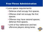 free throw administration47