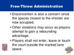 free throw administration49