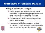 nfhs 2009 11 officials manual62
