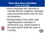 time out area clarified 1 13 3 5 12 5