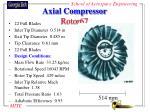 axial compressor rotor67