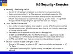 9 0 security exercise