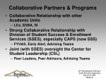 collaborative partners programs