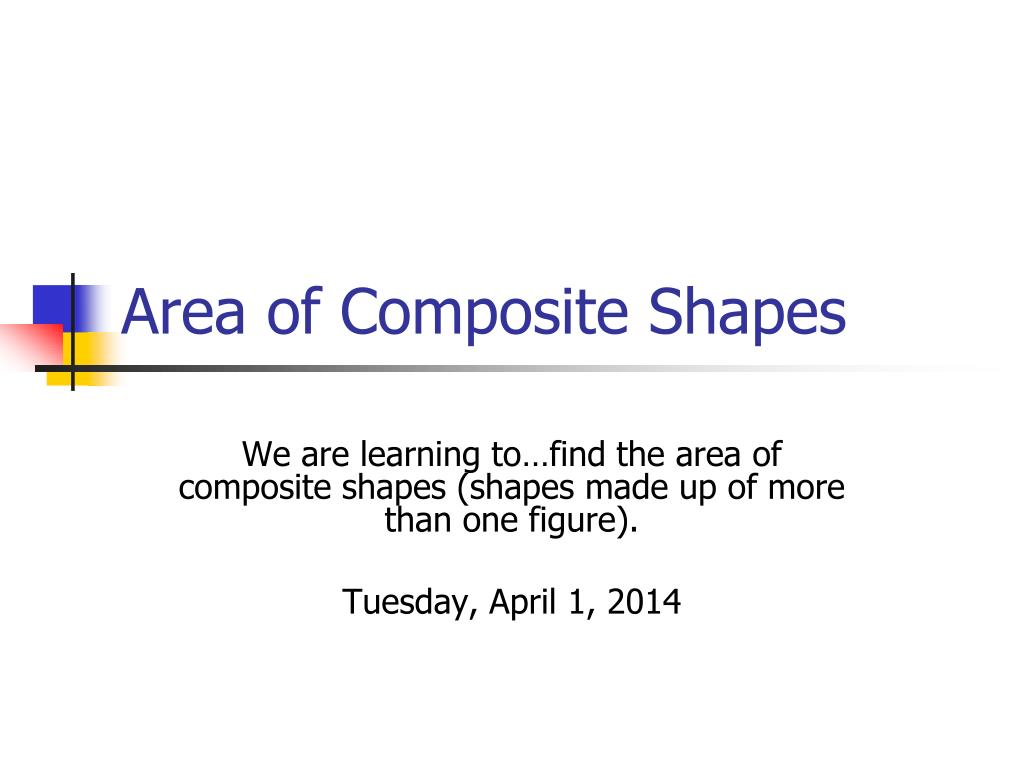 area of composite shapes l.