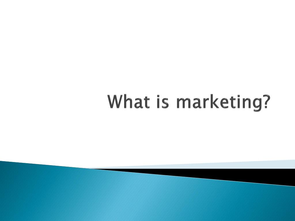 what is marketing l.