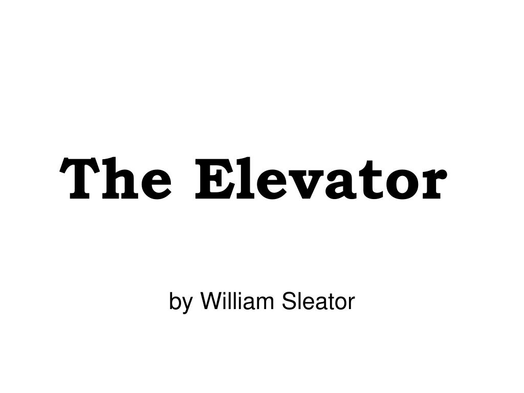 the elevator l.