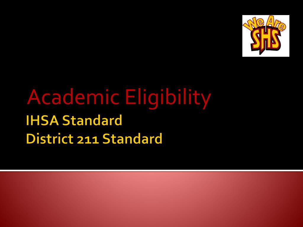 academic eligibility l.