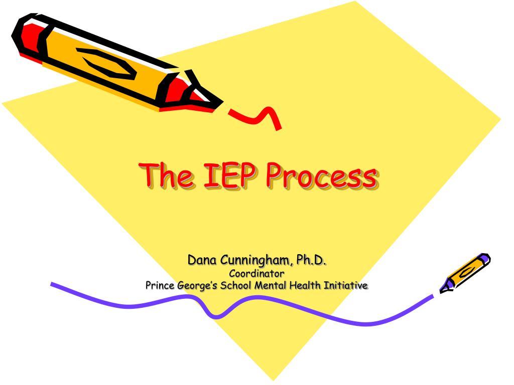 the iep process l.
