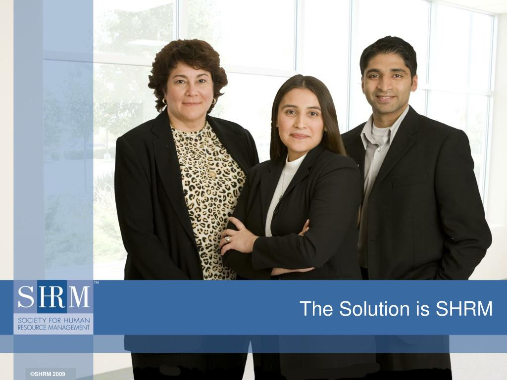 the solution is shrm l.
