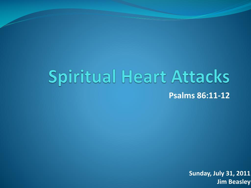 spiritual heart attacks l.