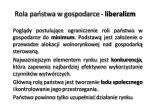 rola pa stwa w gospodarce liberalizm