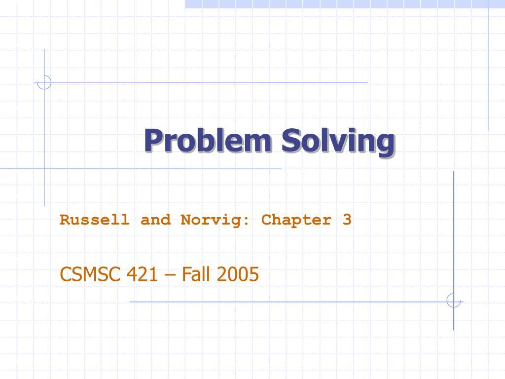 problem solving l.