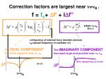 correction factors are largest near n n b