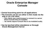 oracle enterprise manager console12