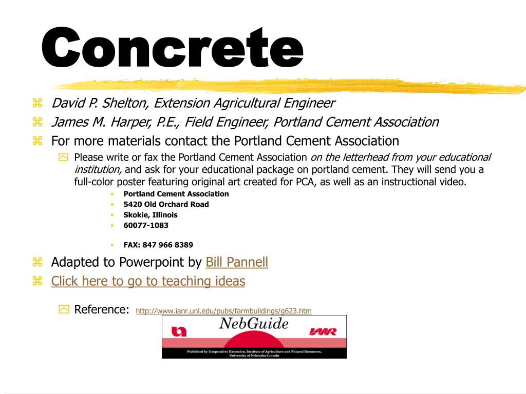 concrete l.