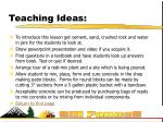 teaching ideas