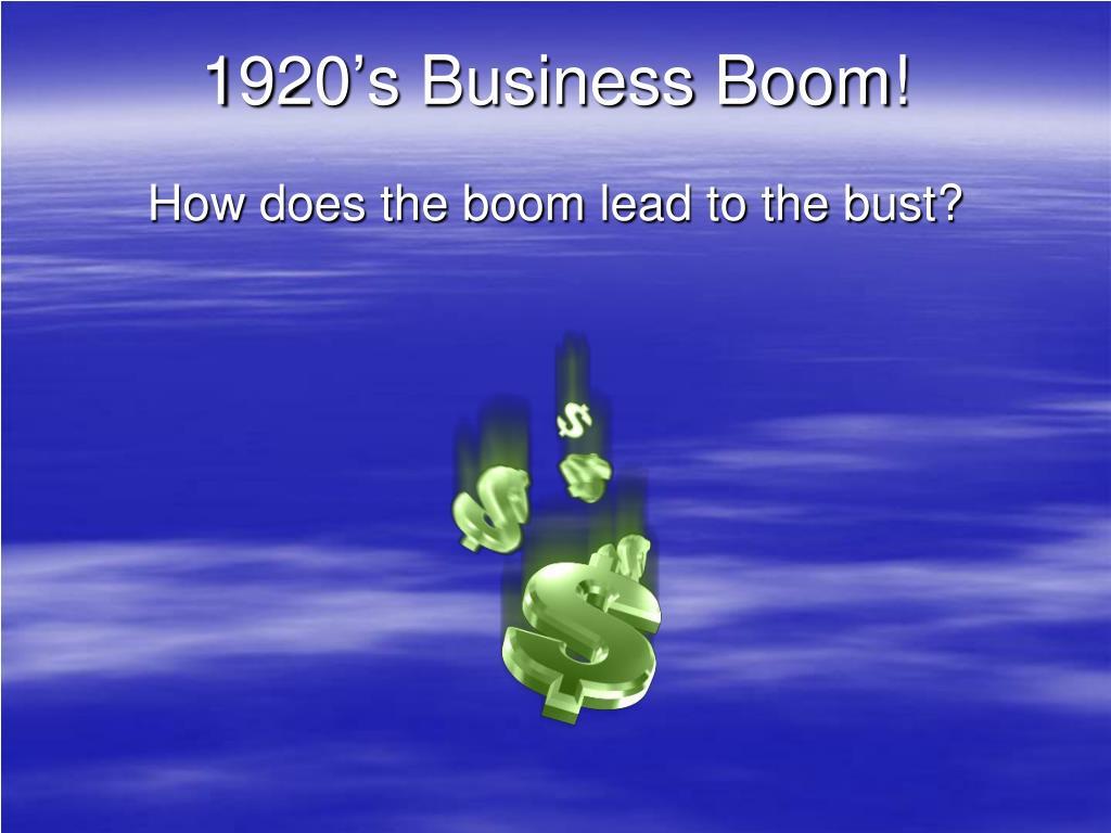 1920 s business boom l.
