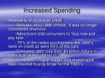 increased spending5