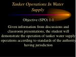 tanker operations in water supply2