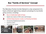 bus family of services concept7
