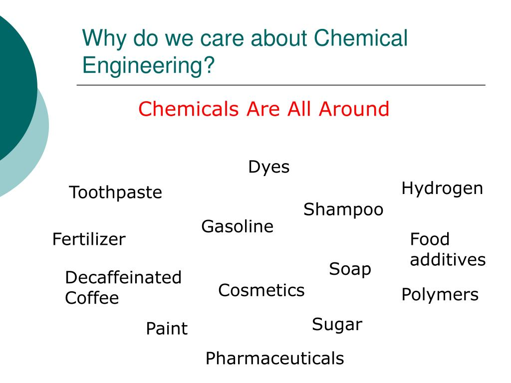 Why do we care about Chemical Engineering?