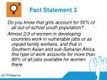 fact statement 3