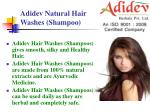 adidev natural hair washes shampoo