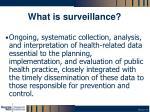 what is surveillance