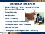 workplace readiness